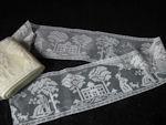 vintage figural filet lace trim