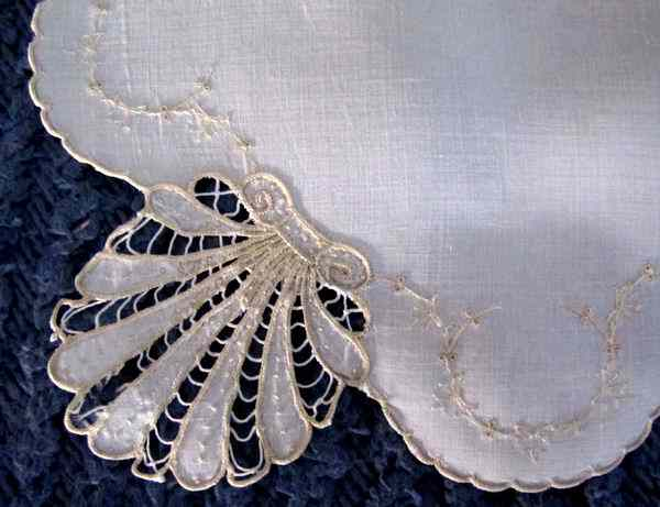close up   vintage doily handmade cutwork lace society silk embroidery