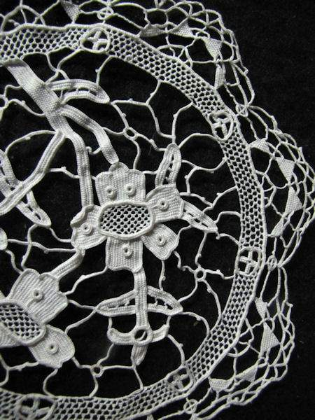 vintage antique doily handmade lace