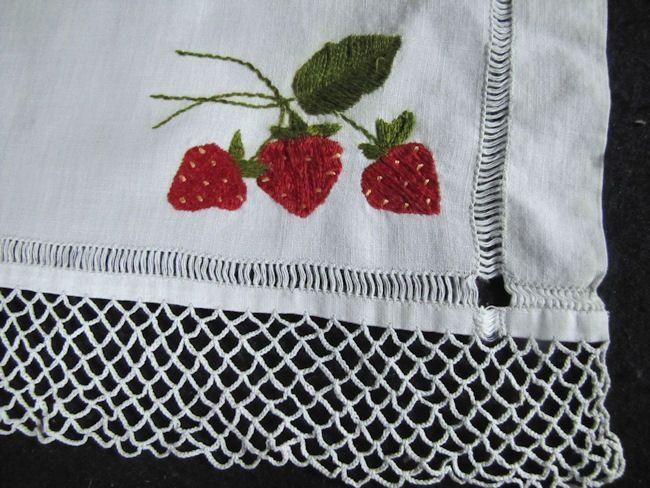 close up 3 vintage antique society silk table runner dresser scarf