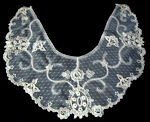 vintage antique victorian dress collar Limerick lace
