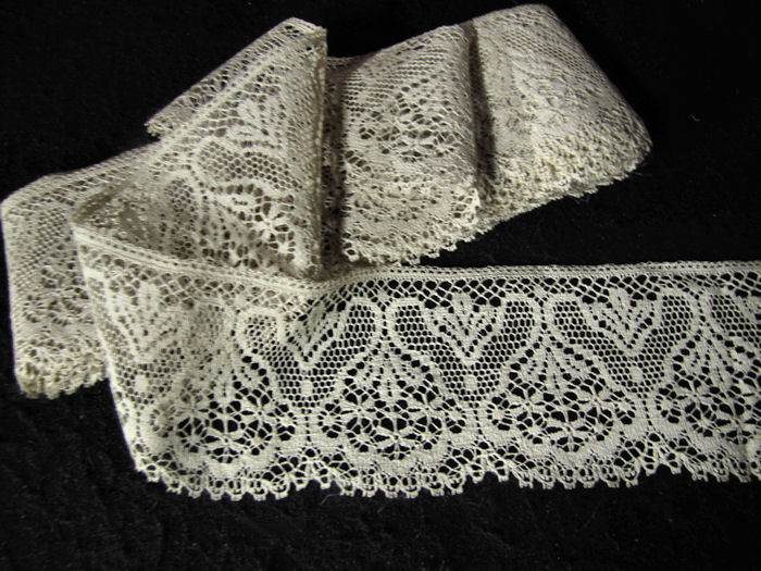 vintage antique lace trim roll
