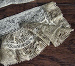 vintage victorian antique french lace cuffs