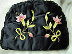 vintage antique tea cozy with society silk embroidery