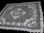 vintage antique lace pillow sham
