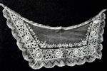 vintage antique victorian collar limerick lace