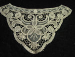 vintage antique victorian lace dress insert collar