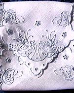 vintage handmade Madeira roll cover