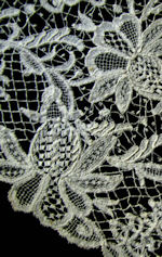 antique handmade branscombe burges lace