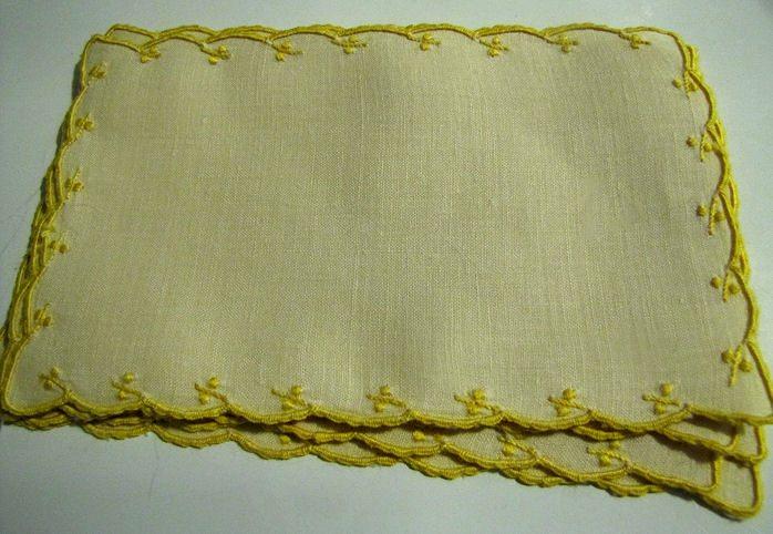 vintage antique napkins