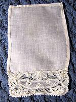 vintage cocktail napkins handmade lace