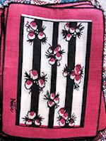 vintage designer print cocktail napkins by Nettie
