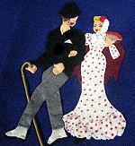 vintage handmade wedding apron