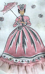 vintage mixer cover pink lady