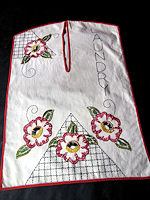vintage antique  handmade laundry bag