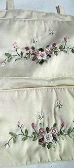 vintage hanging lingerie folder
