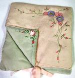 vintage hanky  bag