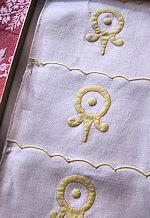 vintage Imperial cocktail napkins