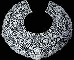 vintage antique Schiffli lace collar
