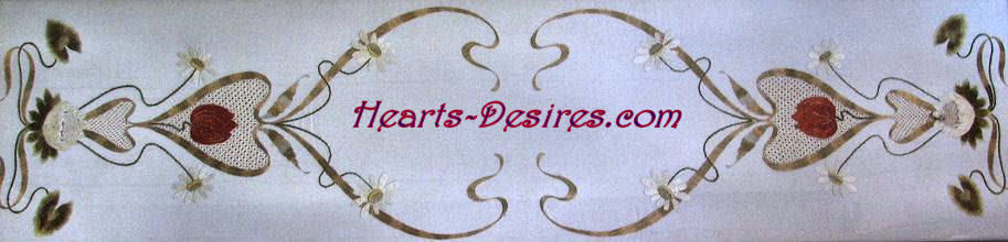 hearts desires logo cherubs