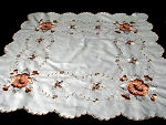 vintage society silk table topper