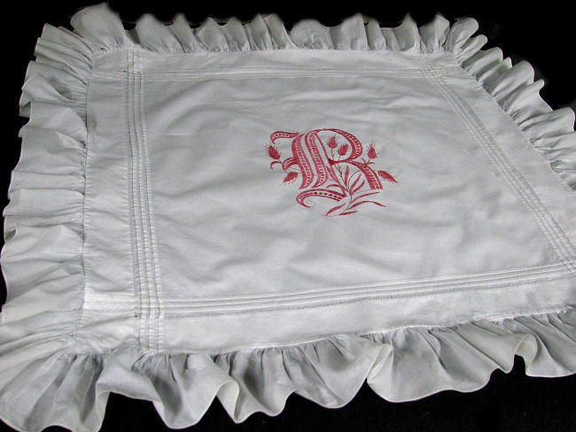 antique pillow shams B