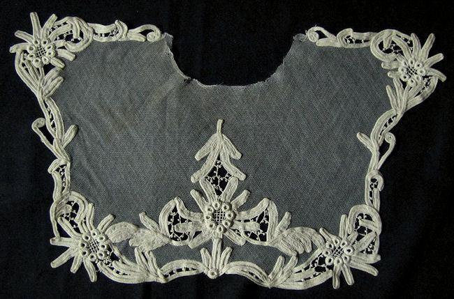 antique vintage lace collar