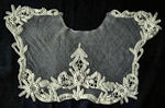 victorian antique net lace collar