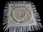 vintage handmade doily lace fringe