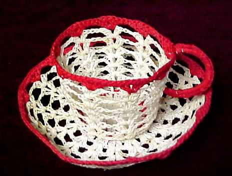 Free Crochet Pattern: Semco Novelty Milk Jug Cover