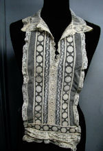 victorian antique lace carrickmacross collar dickey