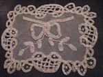vintage ribbon lace doily