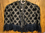 vintage antique Victorian cape