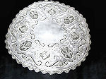 vintage antique linen handmade figural lace and embroidery