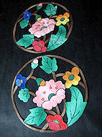 vintage antique doilies pair cutwork arts and crafts