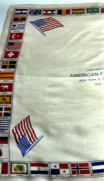 1909 advertising hanky American Flag Co.