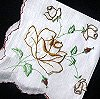 vintage embroidered hanky