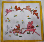 child's children's hanky deer