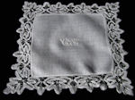 antique wedding hankie handmade lace