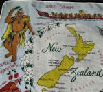 new zealand map hanky