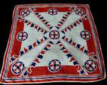 vintage flags hanky