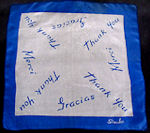 vintage thank you hanky by SusanLu