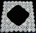 vintage antique lace tatted trim for wedding hanky