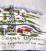 vintage hanky oil rigs casper wyoming
