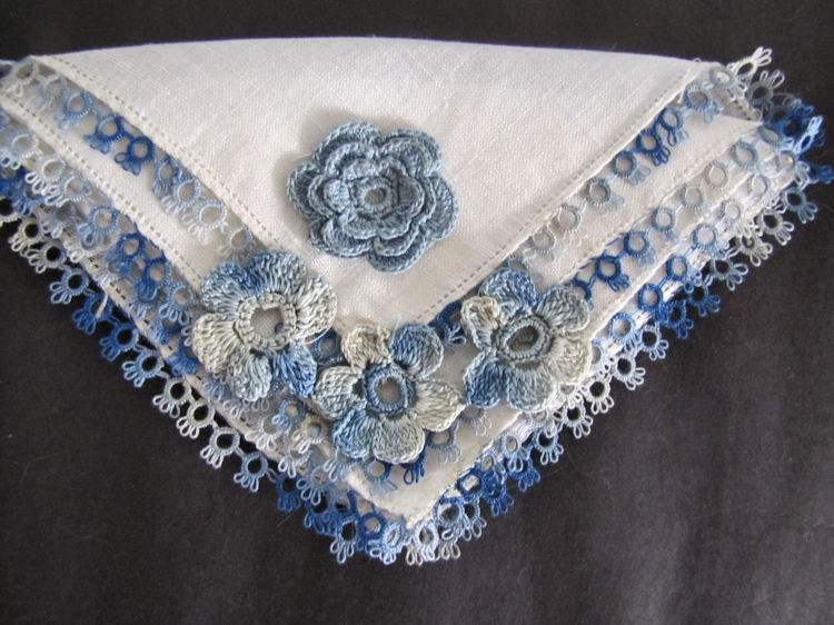 vintage antique irish linen hanky handmade lace