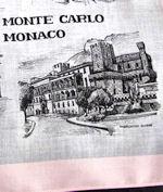 vintage designer hanky Monte Carlo