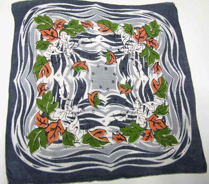 vintage antique designer hanky