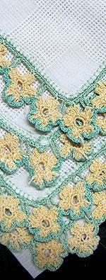 vintage hanky handmade lace