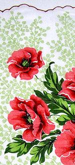 vintage hanky floral print