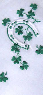 vintage St. Patrick's Day hanky